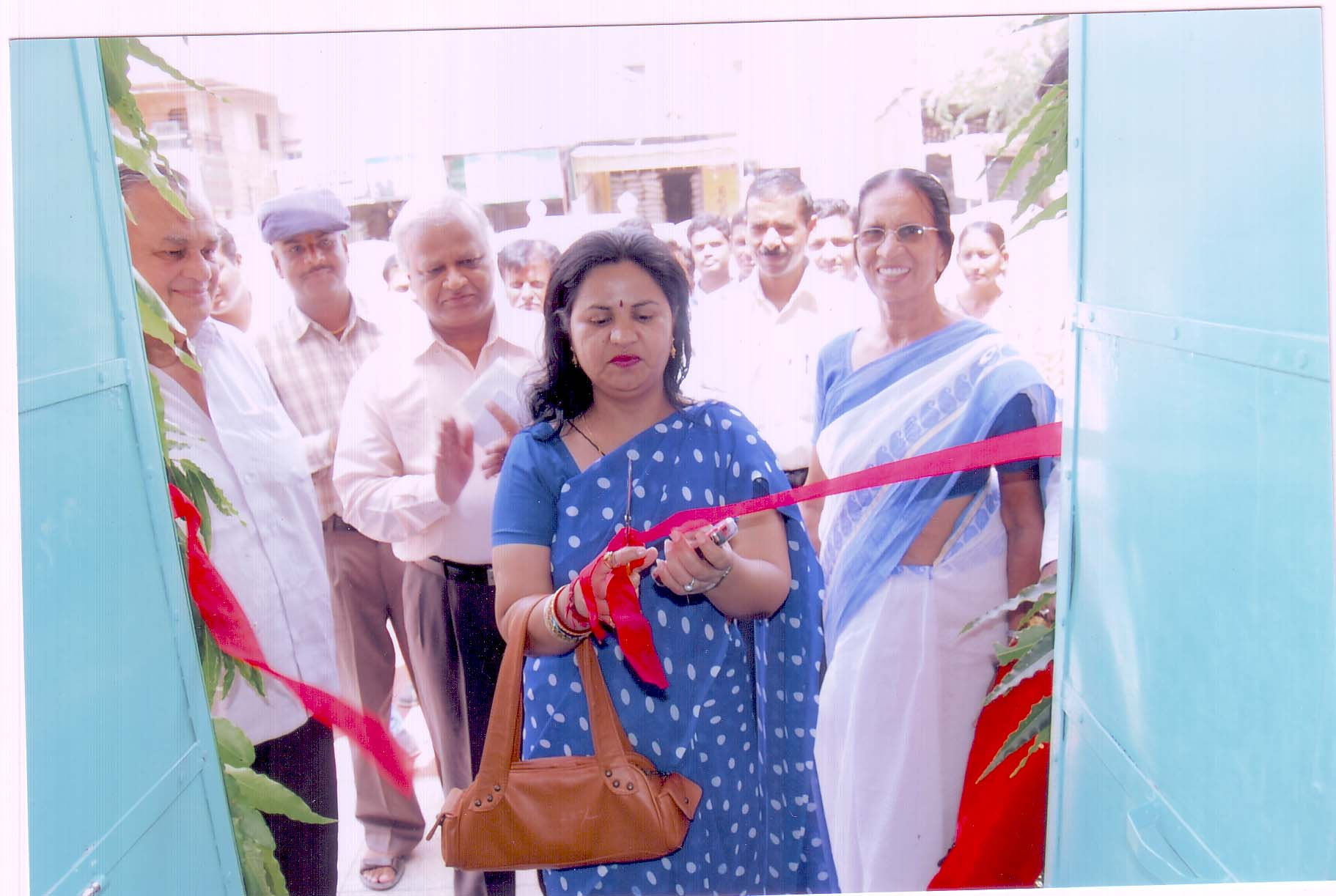 Inauguration of B.Ed. College by the Registrar J.N.V.University