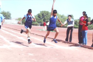 Zonal Disable Persons Sport Competition – 2011 Junior Boys Participating in 200 mtrs.